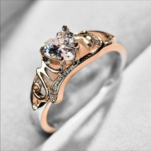 Jewelry - Embossed Mom Ring Sterling Silver